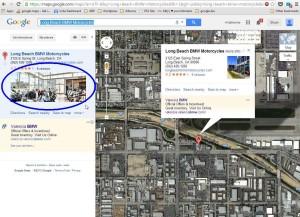 'See Inside' tour showing in Desktop Maps.