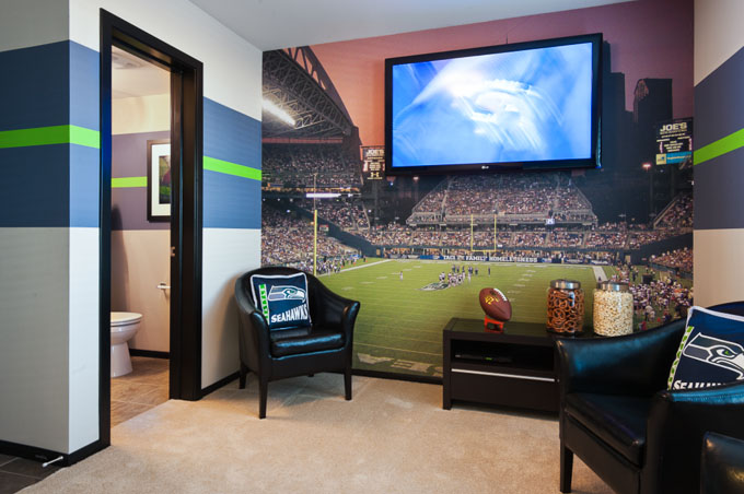 Seattle Seahawks 12th Man Room