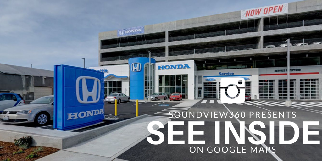 google maps business view for honda of seattle