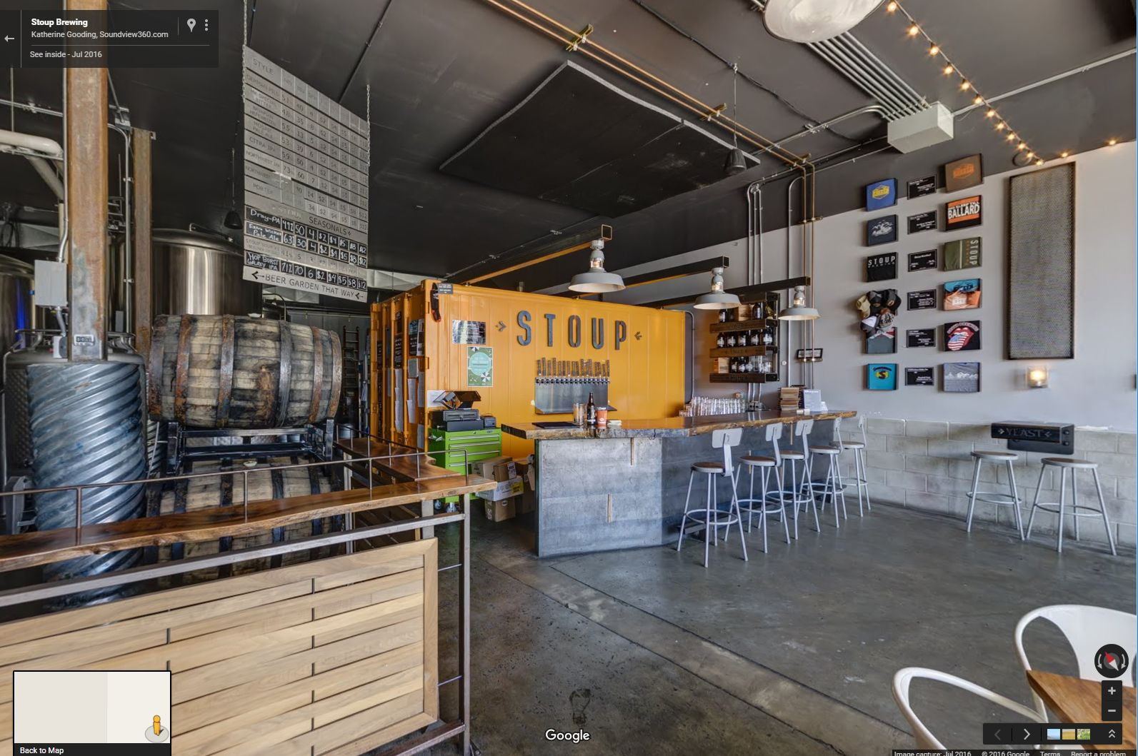 Stoup Brewing 360° Virtual Tour