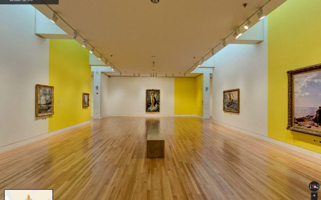 Frye Art Museum Uses Google Maps Business View to Promote the #SocialMedium Exhibit
