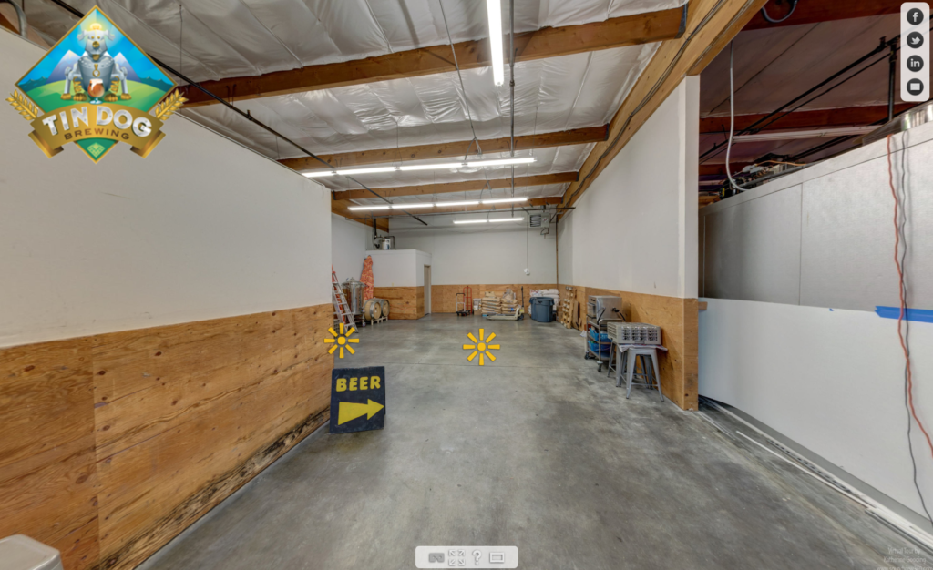 tin dog brewing's expanded space