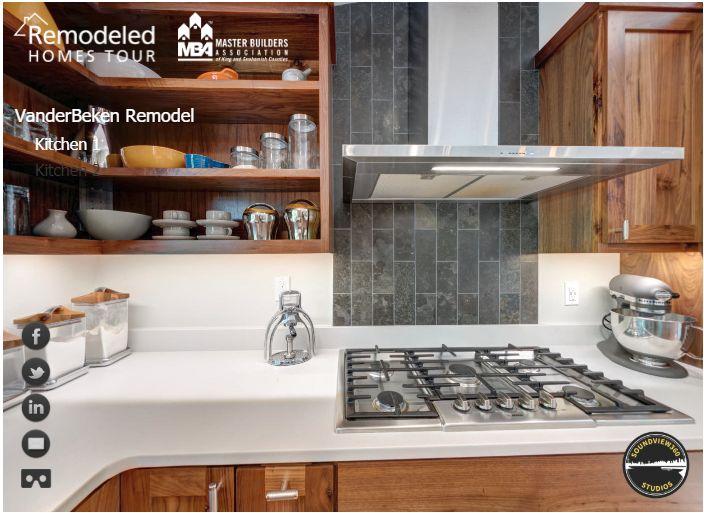 VanderBeken Remodel VR Tour Kitchen